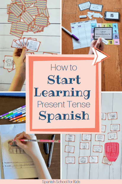 games and activities to teach Spanish to your kids