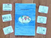 front of passport activity