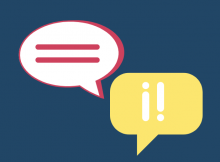 image with speech bubbles for how to learn spanish